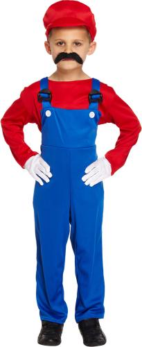 Kostume racerkører Køb Rød