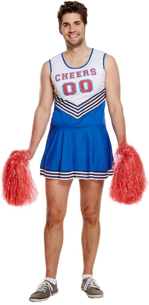 Cheerleader kostume mand. Tilbud kr. 149,- hos Kostume